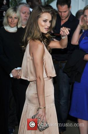 Rosie Huntington-Whiteley Glamour Women Of The Year Awards held at Berkeley Square Gardens - outside arrivals. London, England - 07.06.11