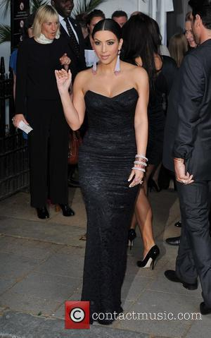 Kim Kardashian and Berkeley Square Gardens