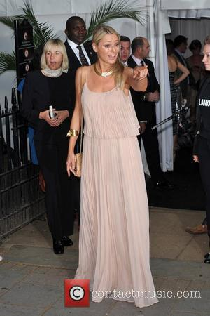 Tess Daly and Berkeley Square Gardens