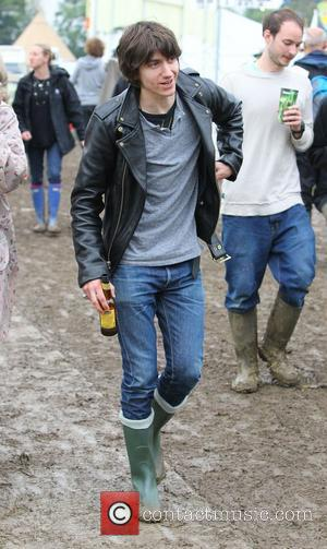 Alex Turner Celebrities at The 2011 Glastonbury Music Festival held at Worthy Farm in Pilton - Day 1  Somerset,...
