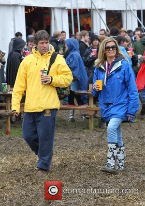 John Bishop Celebrities at The 2011 Glastonbury Music Festival held at Worthy Farm in Pilton - Day 1  Somerset,...