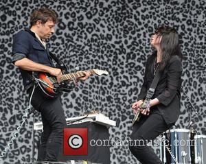The Kills The 2011 Glastonbury Music Festival held at Worthy Farm in Pilton - Day 2 - Performances Somerset, England...