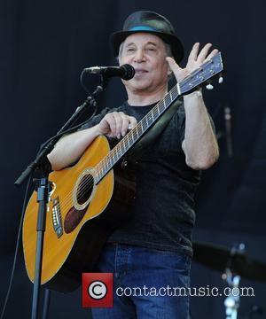 Paul Simon The 2011 Glastonbury Music Festival held at Worthy Farm in Pilton - Day 3 - Performances Somerset, England...