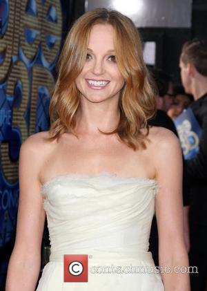 Jayma Mays  The world premiere of 'Glee: The 3D Concert Movie' held at the Regency Village Theatre - Arrivals...