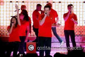 Lea Michele, Cory Monteith and Glee
