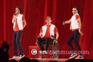 Lea Michele, Kevin Mchale and Naya Rivera