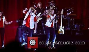 "Chord Overstreet and Heather Morris ""Glee Live! In Concert!"" at Mandalay Bay Resort Las Vegas, Nevada - 21.05.11"