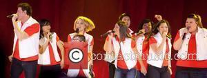 Naya Rivera, Amber Riley, Dianna Agron, Fink, Kevin Mchale and Lea Michele