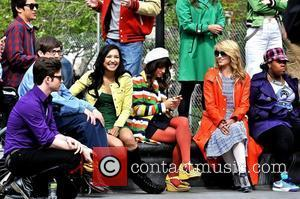 Chris Colfer, Amber Riley, Dianna Agron, Kevin McHale, Lea Michele and Naya Rivera