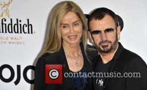 Barbara Bach and Ringo Starr Glenfiddich Mojo Honours List 2011 Awards Ceremony, held at The Brewery - Arrivals London, England...