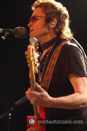 Ex Deep Purple bass player, Glynn Hughes of Black Country Communion performs on stage at The Junction. Cambridge, England -...