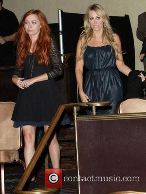 Brandi Cyrus and Mom Tish Cyrus 1st Annual Global Action Awards Gala held at The Beverly Hilton hotel - Inside...