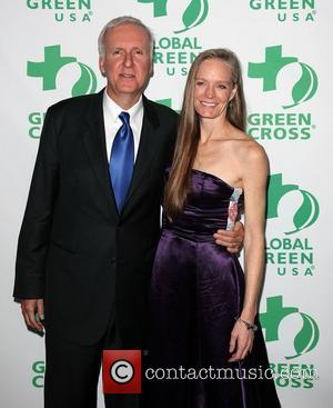 James Cameron and Suzy Amis Global Green USA's 8th annual pre-Oscar party 'Greener Cities For A Cooler Planet' held at...