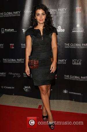 Katie Melua The Global party - Arrivals London, England - 08.09.11