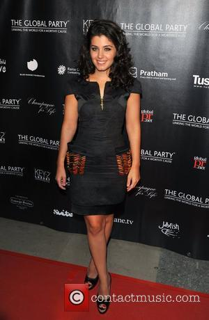 Katie Melua The Global party held at the Natural History Museum - Arrivals  London, England - 08.09.11
