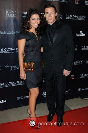 Katie Melua and James Toseland The Global Party- Arrivals London, England - 08.09.11