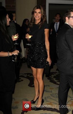 Elisabetta Canalis 2011 GLSEN Respect Awards Honoring Chaz Bono held at the The Beverly Hills Hotel  Beverly Hills, California...