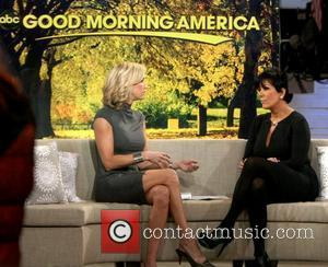 Kris Jenner, Lara Spencer and Good Morning America
