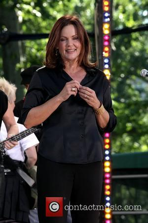 Belinda Carlisle ABC's 'Good Morning America' and Burger King present 'The Go-Go's' at Rumsey Play Field Central Park Summer Stage...
