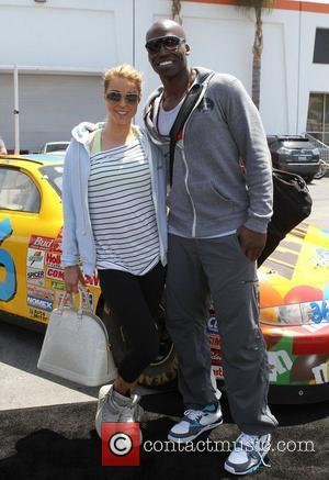 Amy Lynn Grover and Keith Mitchell,  at the Celebrity Go-Kart Tournament benefiting the American Diabetes Association at K1 Speed...