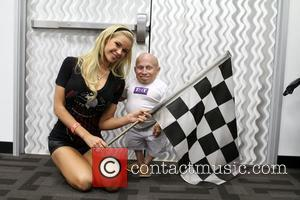 Playmate 2011 Jessa Hinton, Verne Troyer,  at the Celebrity Go-Kart Tournament benefiting the American Diabetes Association at K1 Speed...