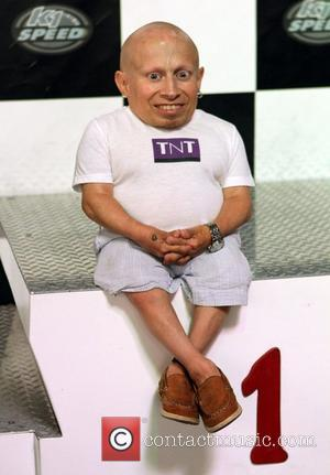 Verne Troyer attends the Celebrity Go-Kart Tournament benefiting the American Diabetes Association at K1 Speed Indoor Go-Kart Racing Gardena, California...