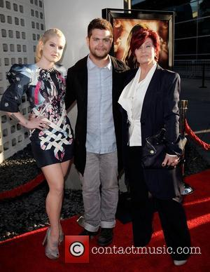 Kelly Osbourne, Jack Osbourne and Sharon Osbourne