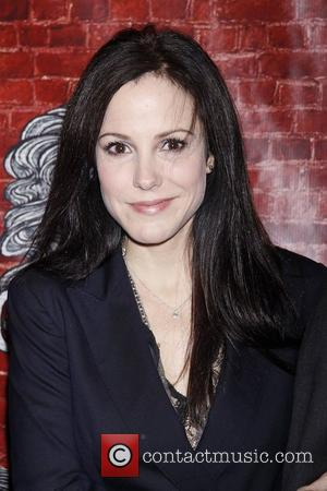 Mary-Louise Parker  Opening night of the Broadway musical production 'Godspell' at the Circle In the Square Theatre - Arrivals....