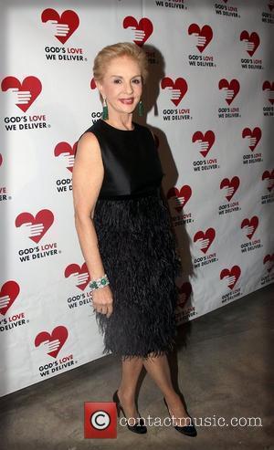Carolina Herrera at the Golden Heart Awards 2011 at the Skylight Soho - Inside New York City, USA - 19.10.2011