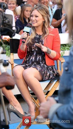 Hilary Duff and Good Morning America