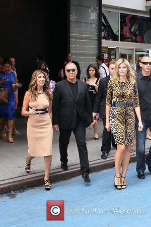 Nina Garcia, Heidi Klum and Michael Kors