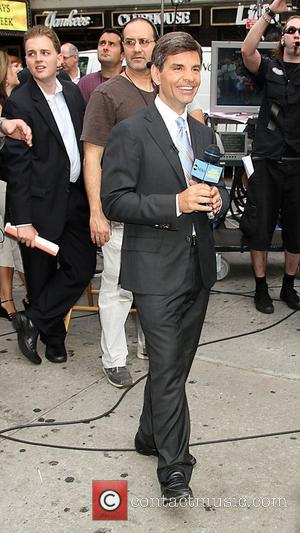 George Stephanoulos outside ABC studios for 'Good Morning America'  New York City, USA - 25.07.11