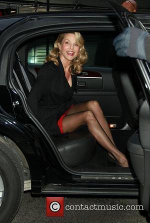 Christie Brinkley  outside the Good Morning America studios New York City, USA - 06.04.11