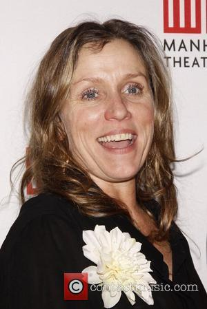 Frances McDormand Opening night after party for the Broadway production of 'Good People' held at B.B. King's show room. New...