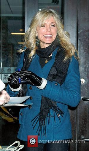 Marla Maples at Good Day NY to promote her performance at Carnegie Hall as part of Turn Up the Peace...