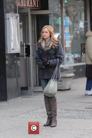 Katie Cassidy and Gossip Girl
