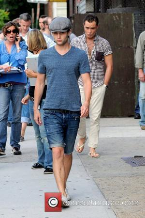 Penn Badgley and Ed Westwick