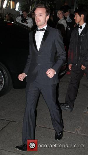 Aaron Paul GQ Magazine's 2011 Men Of The Year party at Chateau Marmont - Outside Arrivals Los Angeles, California -...