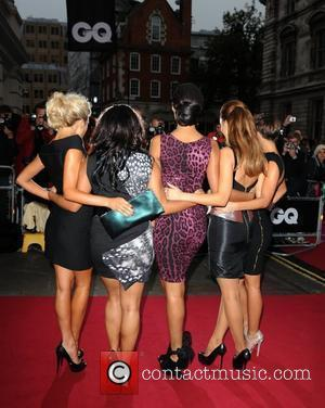 Frankie Sandford, Una Healy, Rochelle Wiseman, Vanessa White and Mollie King of The Saturdays GQ Men of the Year Awards...