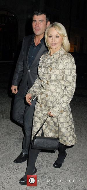 Joe Calzaghe and Kristina Rihanoff,  at the GQ Style 2011 party held at the Corinthia Hotel London, England -...