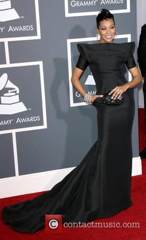 Monica The 53rd Annual GRAMMY Awards at the Staples Center - Red Carpet Arrivals Los Angeles, California - 13.02.11