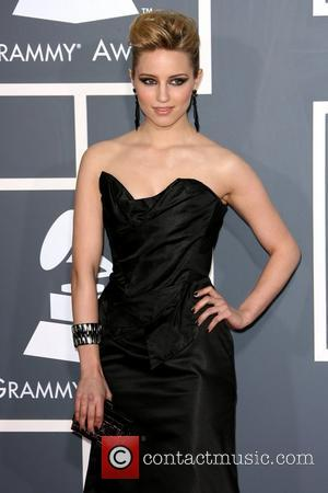 Dianna Agron The 53rd Annual GRAMMY Awards at the Staples Center - Red Carpet Arrivals Los Angeles, California - 13.02.11