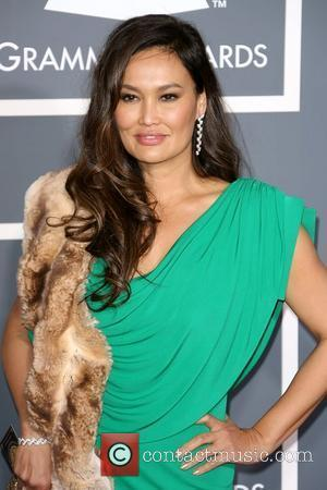 Tia Carrere The 53rd Annual GRAMMY Awards at the Staples Center - Red Carpet Arrivals Los Angeles, California - 13.02.11