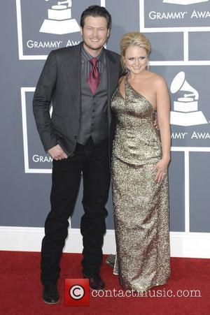 Blake Shelton, Miranda Lambert  The 53rd Annual GRAMMY Awards at the Staples Center - Red Carpet Arrivals Los Angeles,...