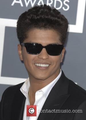 Bruno Mars  The 53rd Annual GRAMMY Awards at the Staples Center - Red Carpet Arrivals Los Angeles, California -...