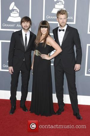 Dave Haywood, Charles Kelley and Hillary Scott
