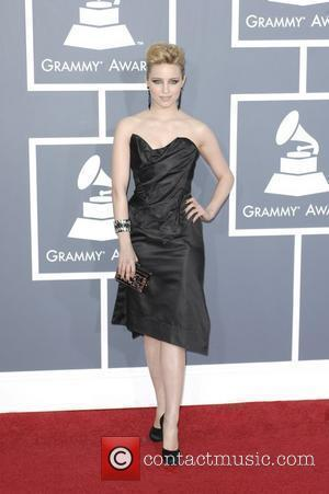 Dianna Agron  The 53rd Annual GRAMMY Awards at the Staples Center - Red Carpet Arrivals Los Angeles, California -...