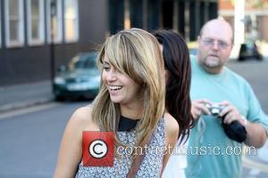Samia Smith outside Granada Studios Manchester, England - 05.08.11