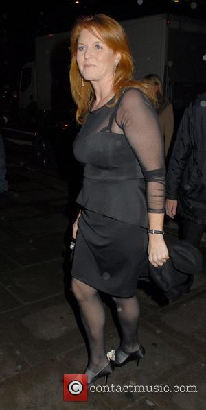 Sarah Ferguson Great Ormond Street Children's hospital fundraising dinner - Ouside Arrivals  London, England - 14.11.11