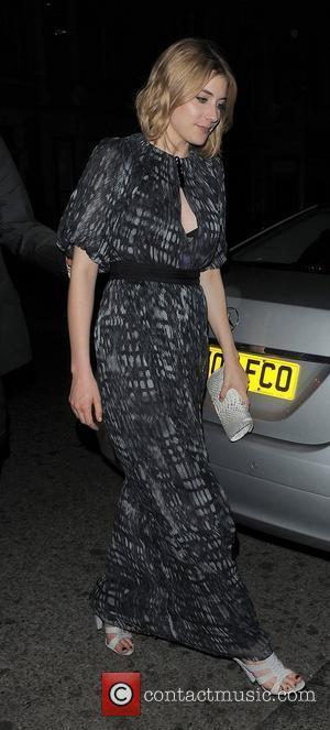 Greta Gerwig arriving back at her hotel. London, England - 19.04.11